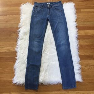 Hudson Collin Mid-rise Skinny Jeans